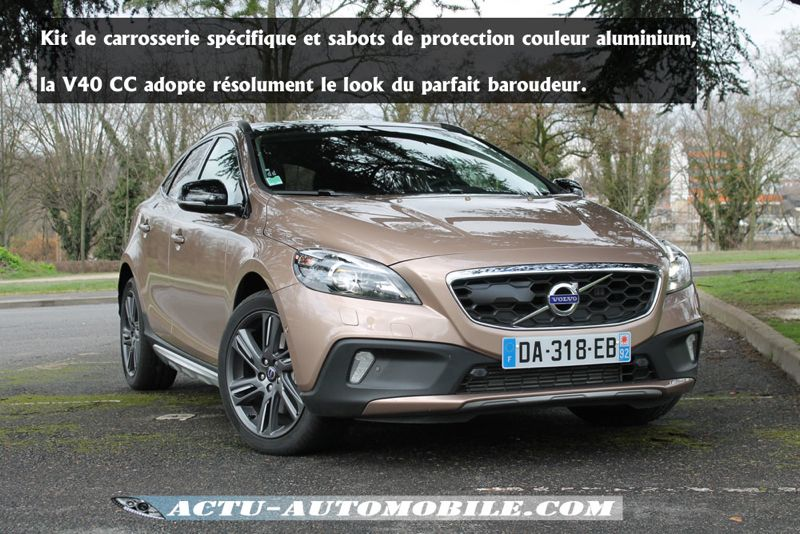 volvo v40 cross country essai excellent essai volvo v cross country d vivre auto with volvo v40. Black Bedroom Furniture Sets. Home Design Ideas