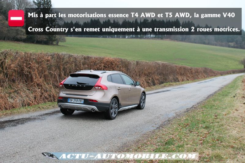 Transmission Volvo V40 Cross Country