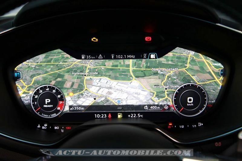 Système de navigation Audi TT 2014