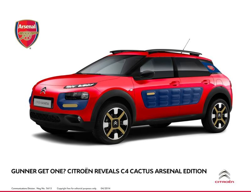 Citroën C4 Cactus Arsenal