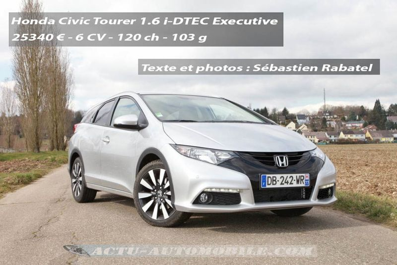 Nouvelle Honda Civic Tourer