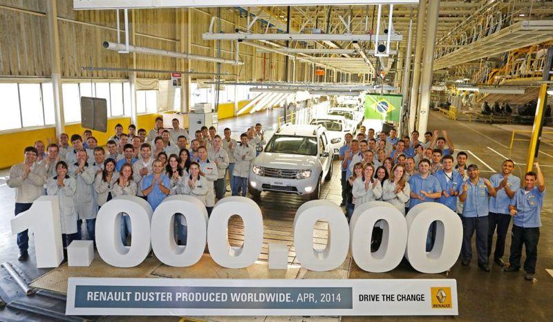 Un million de Renault Duster