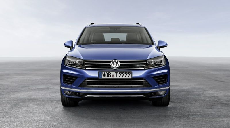 nouveau volkswagen touareg l ger facelift actu automobile. Black Bedroom Furniture Sets. Home Design Ideas