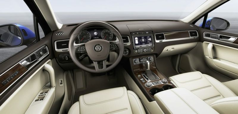 Nouveau Volkswagen Touareg