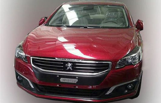 Peugeot 508 restylée version chinoise