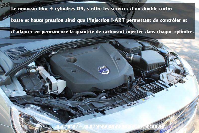 Moteur Volvo D4 DRIVE-E