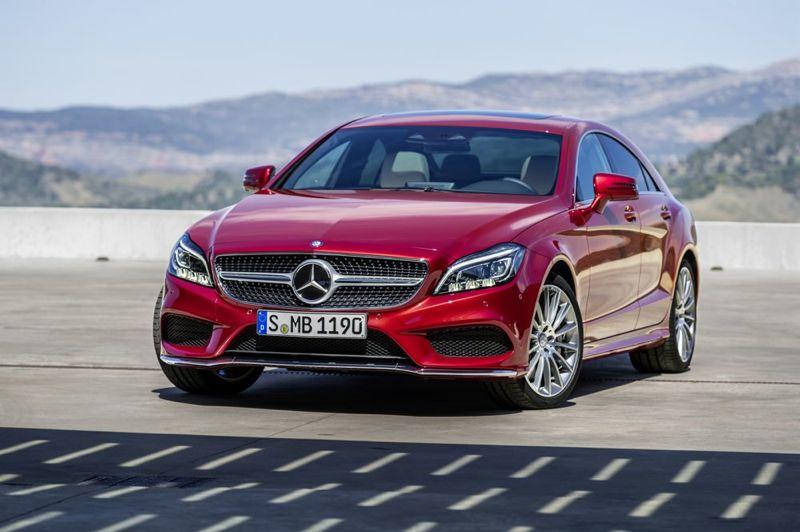 Mercedes CLS restylé