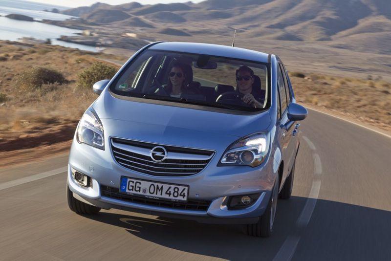 Moteur CDTI 95 nouvel Opel Meriva