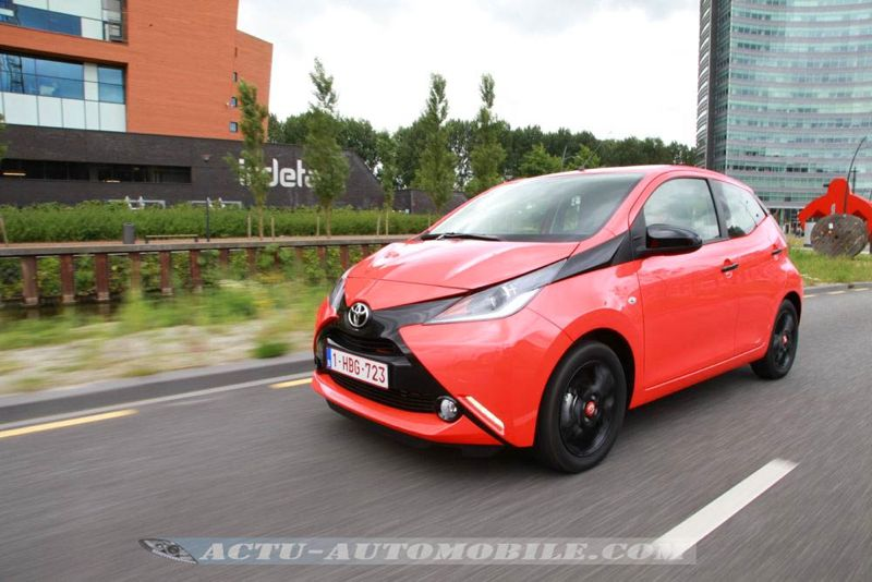 essai toyota aygo 69 vvt i x cite enfant terrible actu automobile. Black Bedroom Furniture Sets. Home Design Ideas