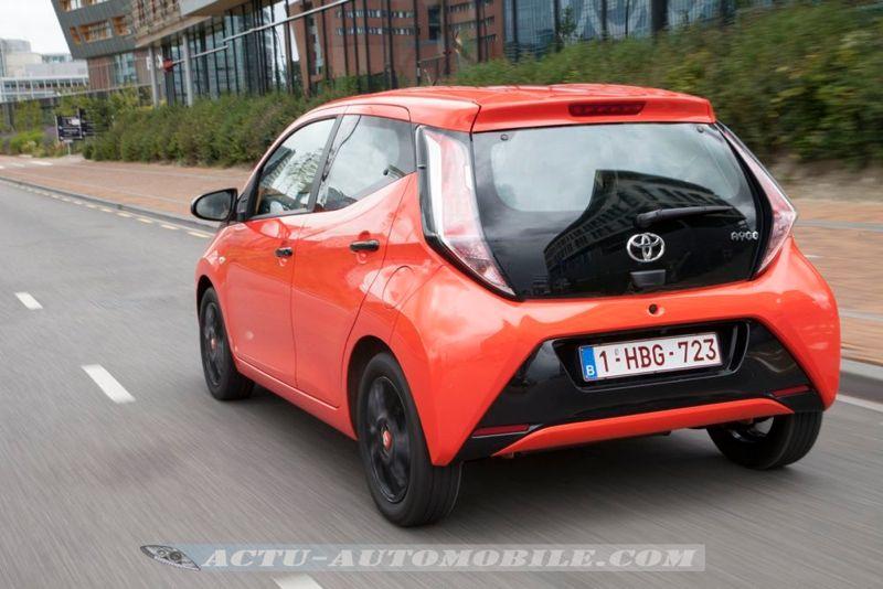 Nouvelle Toyota Aygo