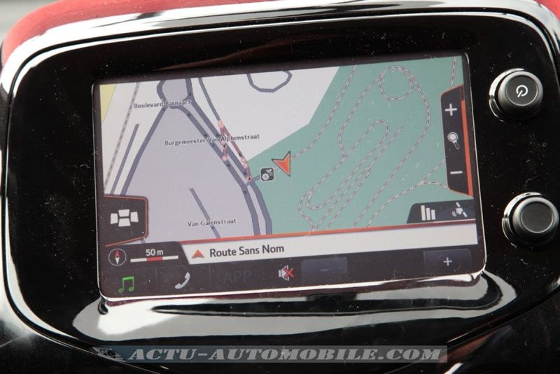 GPS nouvelle Toyota Aygo