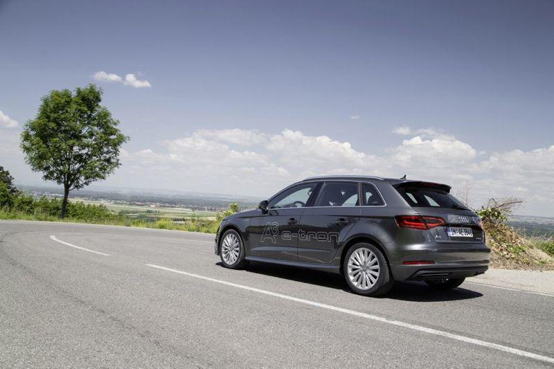 Nouvelle Audi A3 Sportback e-tron