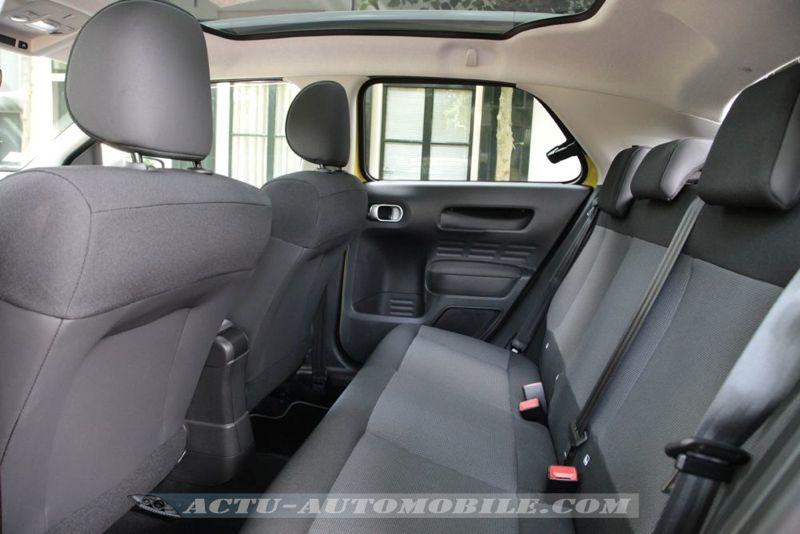 Sièges arrière Citroën C4 Cactus