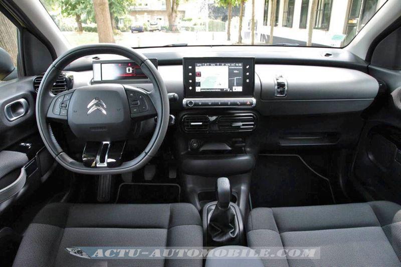 Planche de bord Citroën C4 Cactus