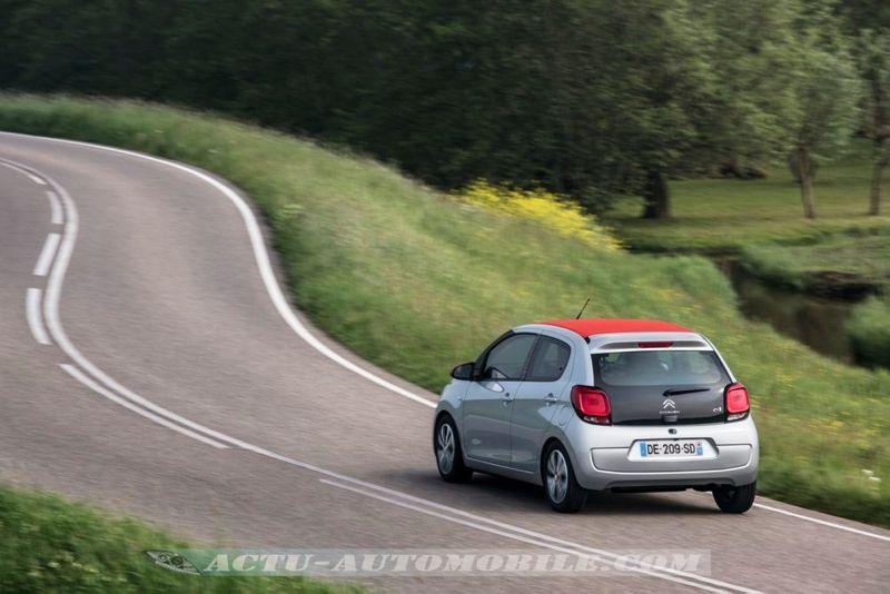 Essai nouvelle Citroën C1