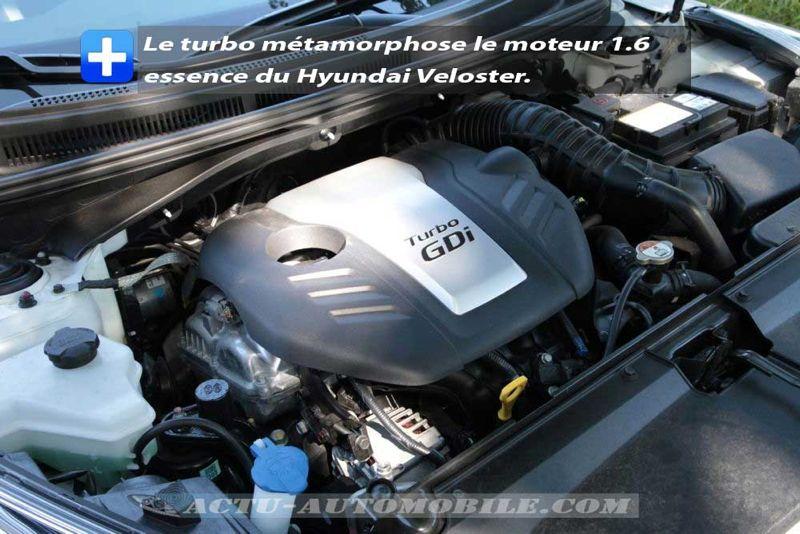 Moteur Hyundai Veloster Turbo