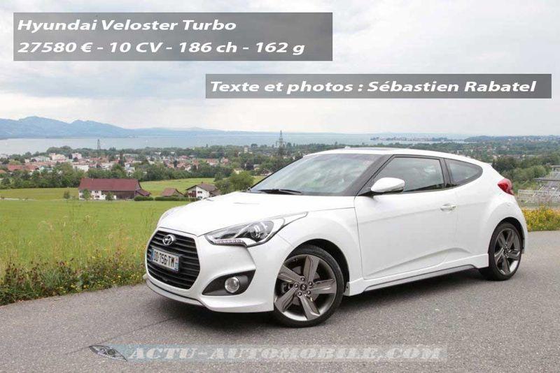 Essai Hyundai Veloster Turbo