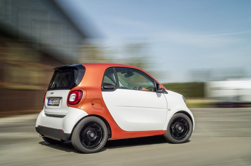 Nouvelle Smart Fortwo