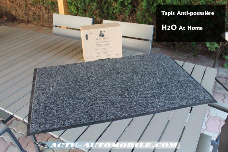 Tapis anti-poussière H2O