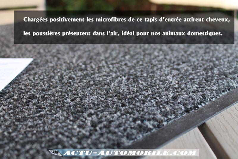 Microfibres tapis
