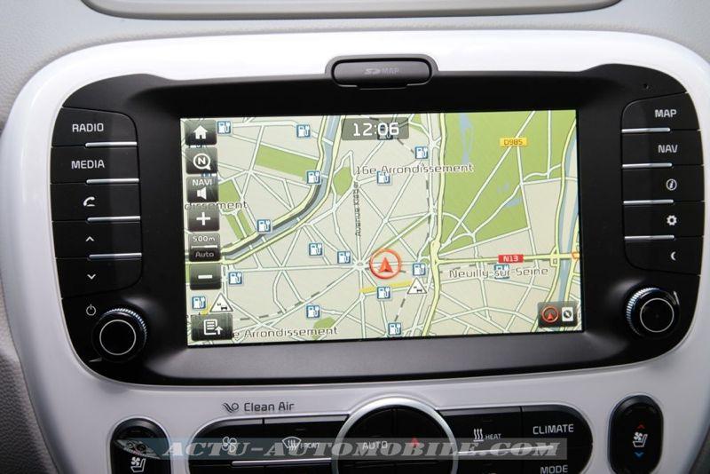 GPS Kia Soul EV