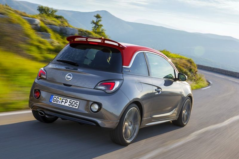 opel adam s graine d 39 opc actu automobile. Black Bedroom Furniture Sets. Home Design Ideas