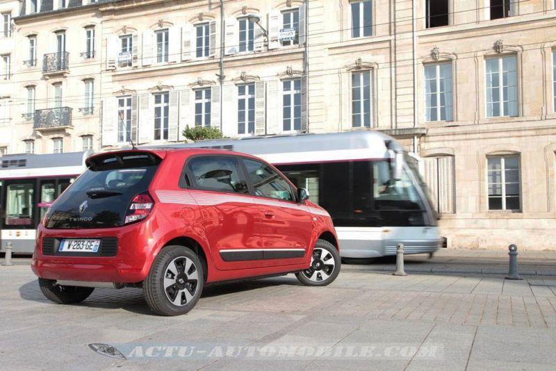 Essai nouvelle Renault Twingo