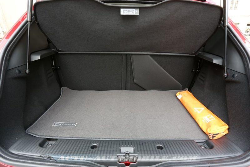 Coffre nouvelle Renault Twingo