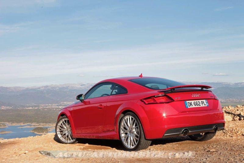 Essai nouvelle Audi TT
