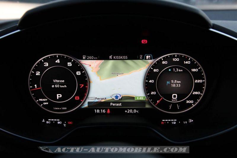 Cockpit virtuel nouvelle Audi TT