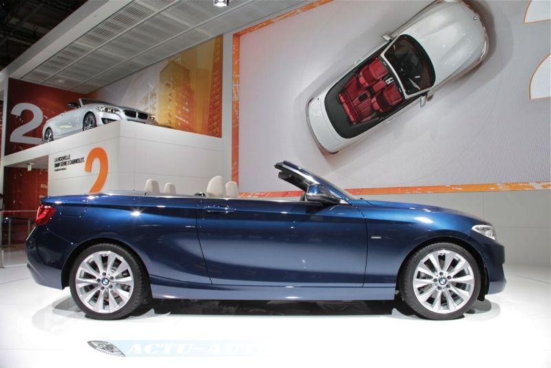 Nouvelle BMW Série 2 Cabriolet au Mondial