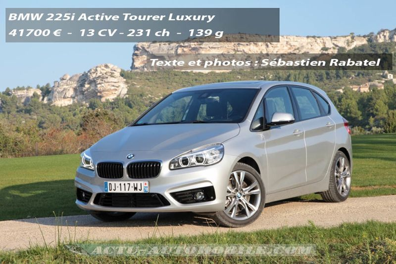 essai bmw s rie 2 active tourer 225i et 218d actu automobile. Black Bedroom Furniture Sets. Home Design Ideas