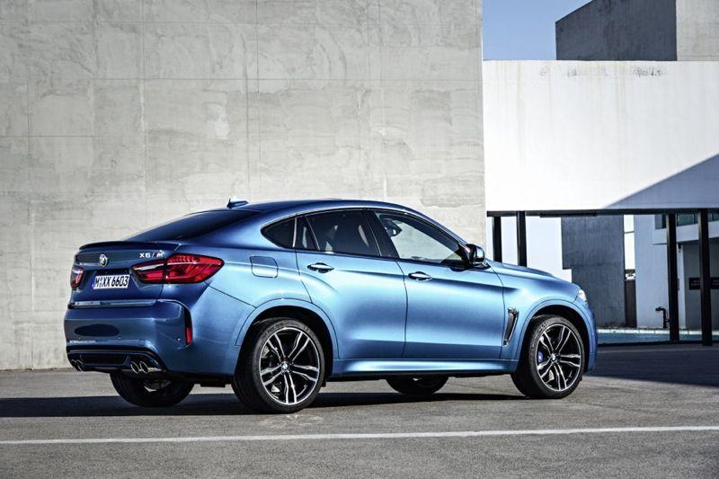 BMW X6 M et X5 M 2015