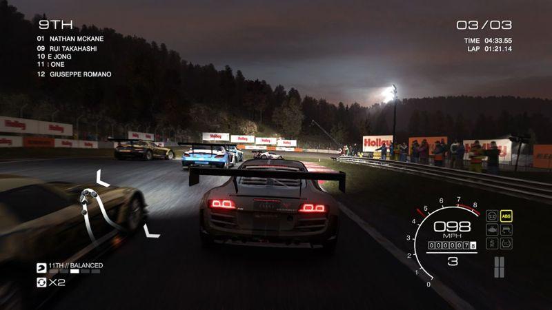 Grid Autosport sur PS3