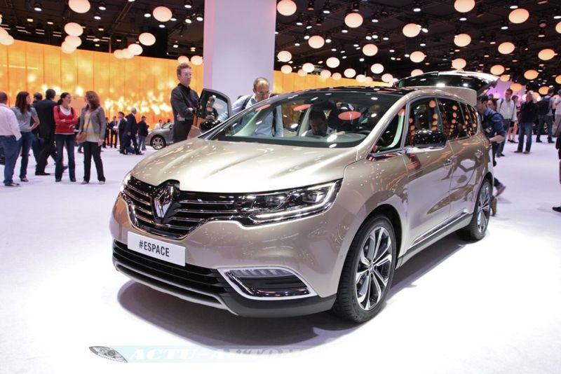 Nouveau Renault Espace au Mondial 2014