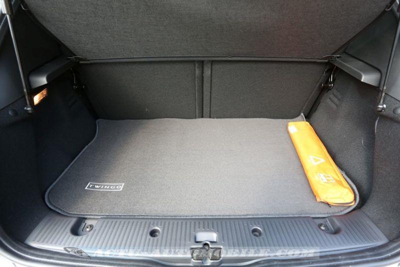 Coffre nouvelle Renault Twingo TCe 90