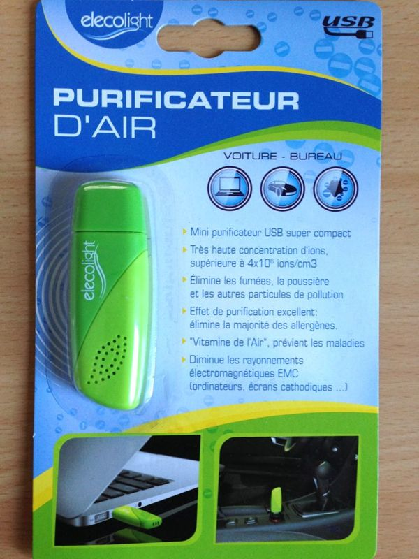 Purificateur d'air Elecolight