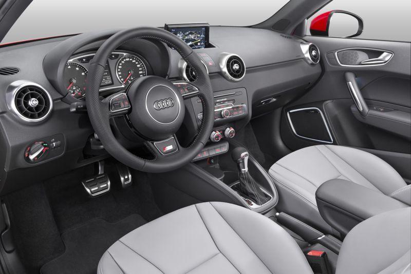 Planche de bord Audi A1 restylée