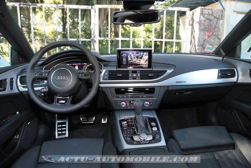 Planche de bord Audi A7 Sportback