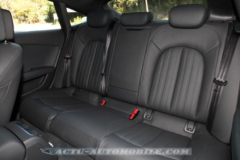 Places arrière Audi A7 Sportback