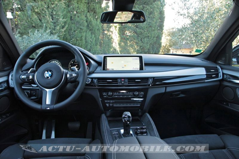 Planche de bord BMW X6 M50d