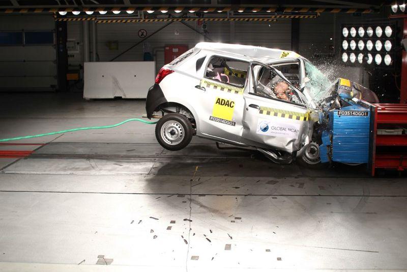 Datsun Go en crash-test