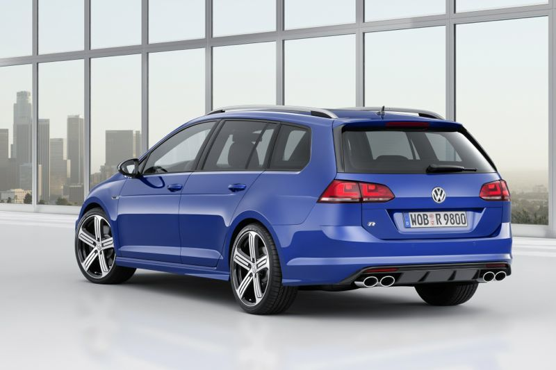 volkswagen golf r sw pour les us actu automobile. Black Bedroom Furniture Sets. Home Design Ideas