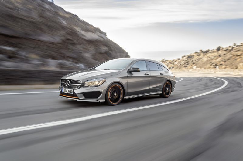 Mercedes CLA Shooting Brake grise