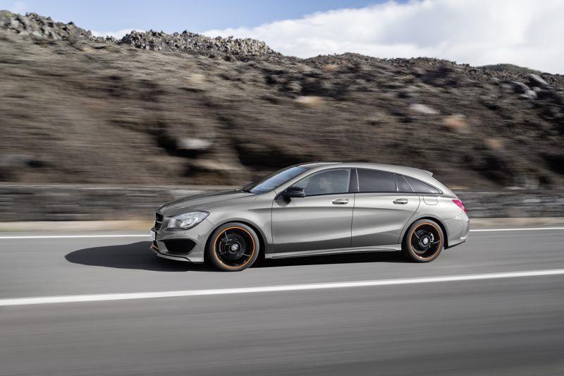 Mercedes CLA Shooting Brake de profil