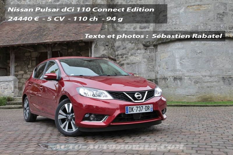 Nissan Pulsar Connect Edition