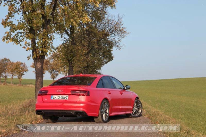 Essai Audi S6 2014