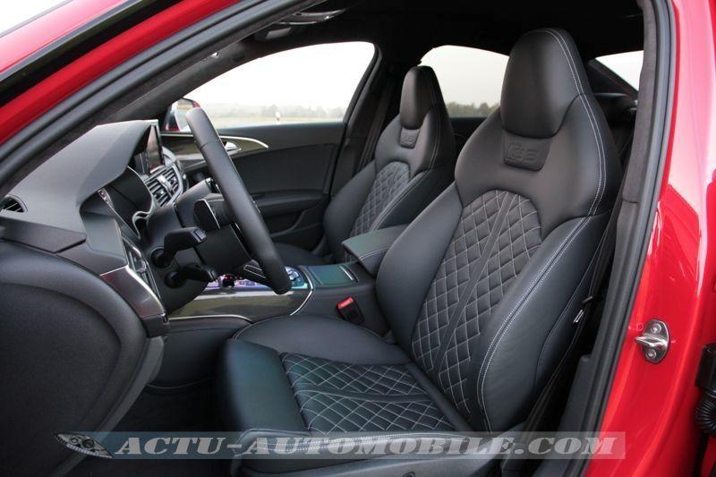 Sièges avant Audi S6 2014