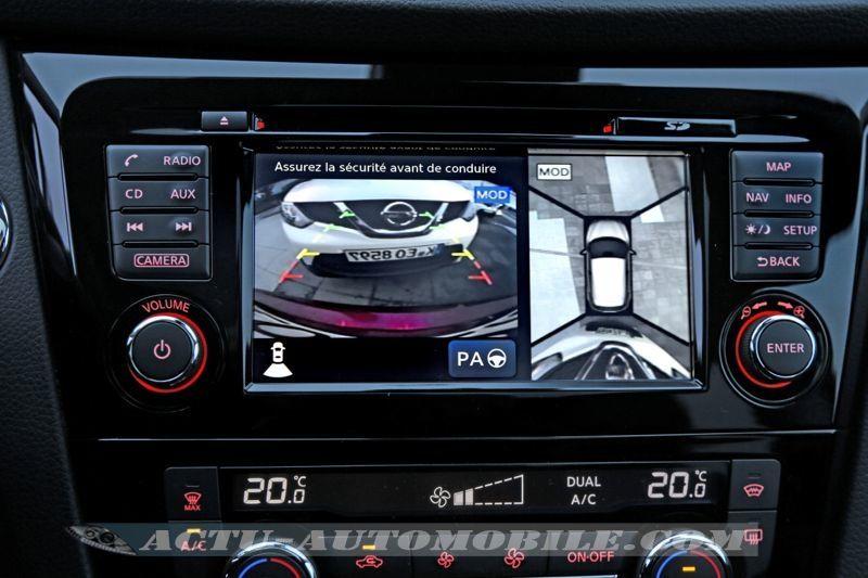 Système AVM vision à 360 degrés pour le Qashqai