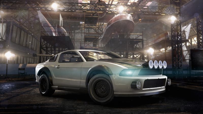 Personnalisation Dirt de la Ford Mustang dans The Crew